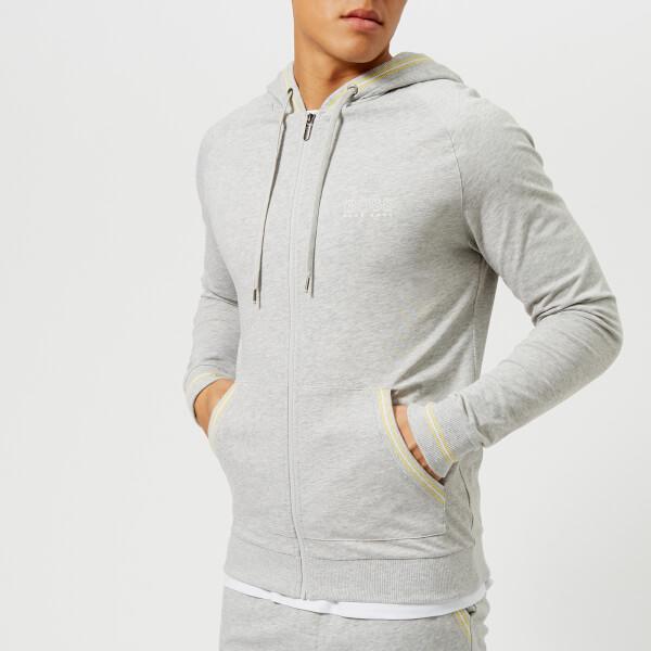 bb2e6085 BOSS Hugo Boss Men's Zipped Hoody - Grey Mens Clothing | TheHut.com
