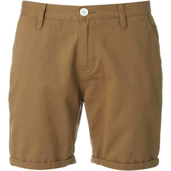 Brave Soul Men's Smith Chino Shorts - Tobacco