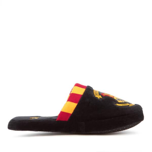 Harry Potter Men's Hogwarts Slippers - Black