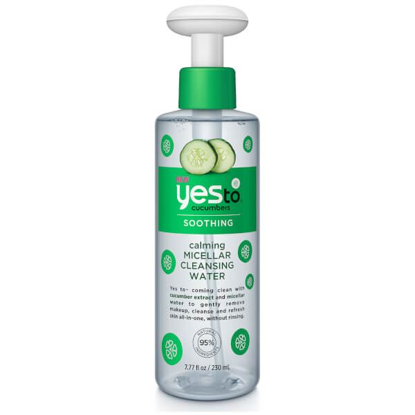 Yes To Cucumbers Calming Micellar Cleansing Water Free
