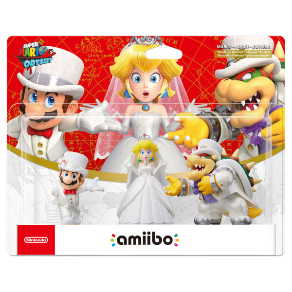 Wedding Outfit Amiibo Set (Super Mario Collection