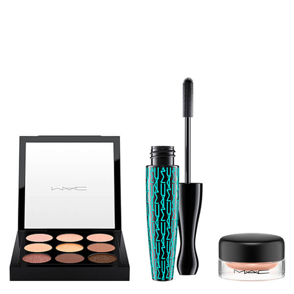 MAC Essentials Colour Kit (Various Pro Longwear Paint Pot Eye Shadow)