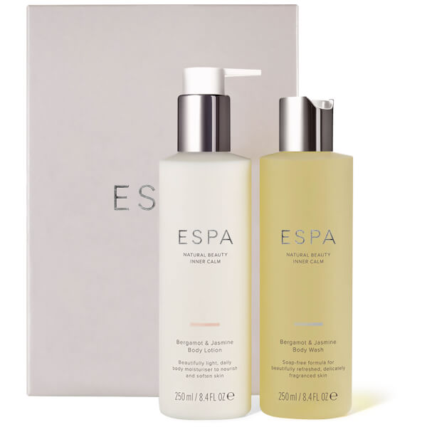 Bergamot and Jasmine Shower and Hydrate Collection (Worth $59.00)
