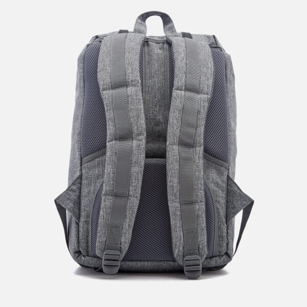 506fad71bbf9 Herschel Supply Co. Men's Little America Backpack - Raven Crosshatch/Black  Rubber: Image
