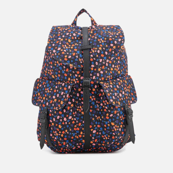 Herschel Supply Co. Women's Dawson Xtra Small Backpack - Black Mini Floral