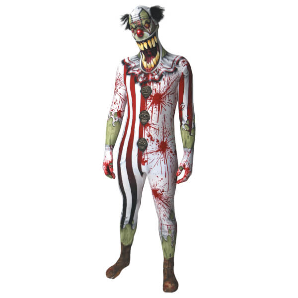 Morphsuit Adults' Jaw Dropper Clown - Multi
