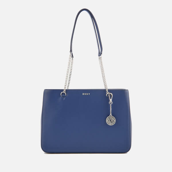 DKNY Women's Bryant Large Shopper Tote Bag - Iris