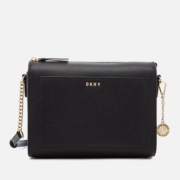 DKNY Women's Bryant Medium Box Cross Body Bag - Black
