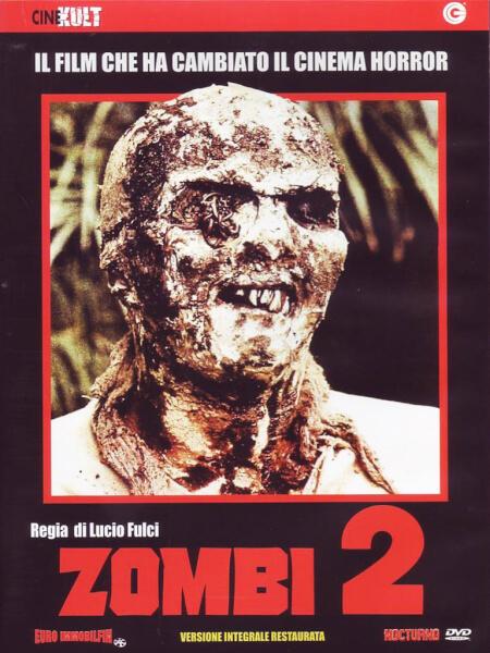 Zombie Flesh Eaters Dvd Zavvi