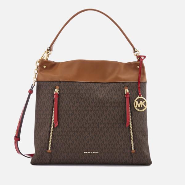 MICHAEL MICHAEL KORS Women's Lex Large Hobo Bag - Signature
