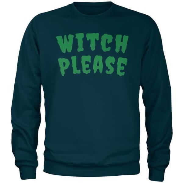 Sweat Homme Witch Please - Bleu Marine - S - Navy