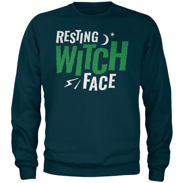 Sweat Homme Resting Witch Face - Bleu Marine - XXL - Navy