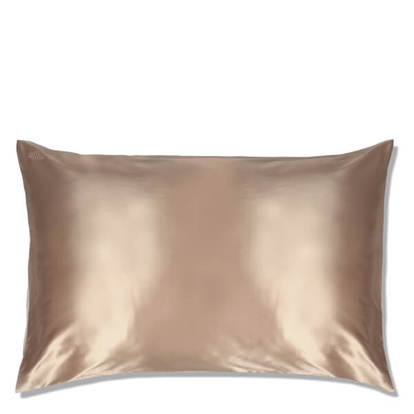 Slip Silk Pillowcase Queen Caramel Free Shipping
