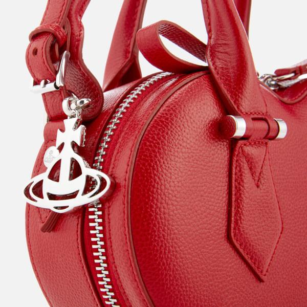 41706b502f4 Vivienne Westwood Women's Johanna Heart Handbag - Red: Image 4