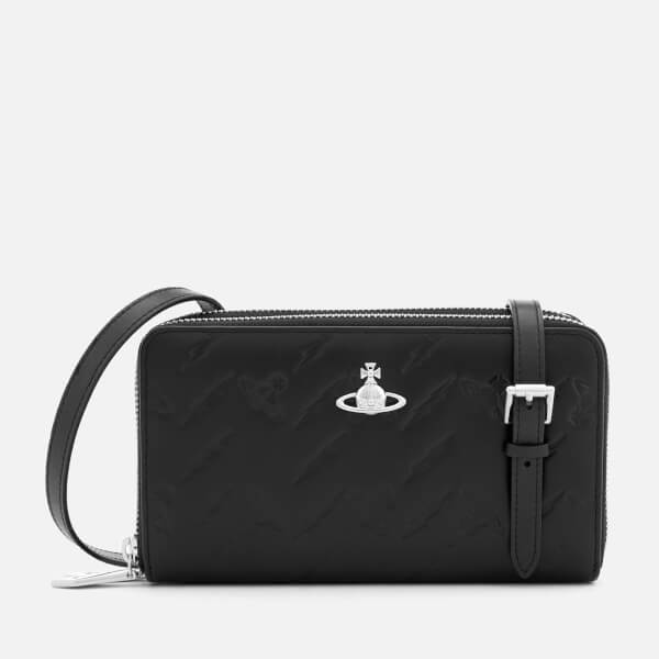 4304ab24c8 Vivienne Westwood Women's Canterbury New Cross Body Bag - Black: Image 1
