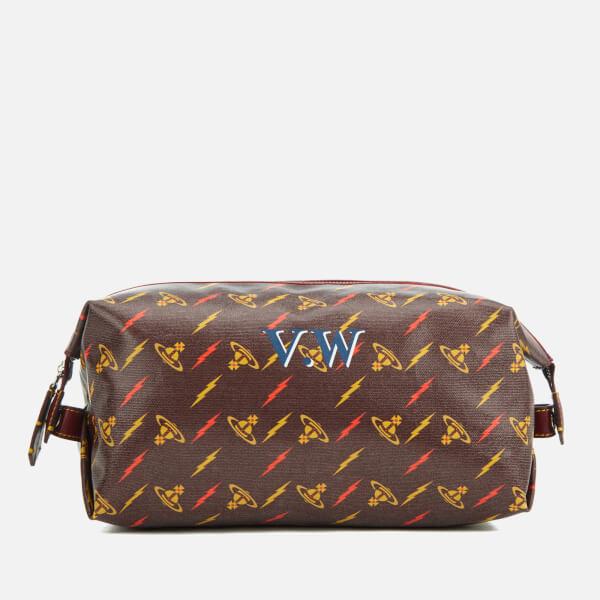 d0806777ff8f Vivienne Westwood Women's Colette Wash Bag - Burgundy: Image 1