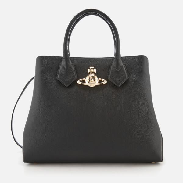 Vivienne Westwood Women's Balmoral Shopper Bag - Black