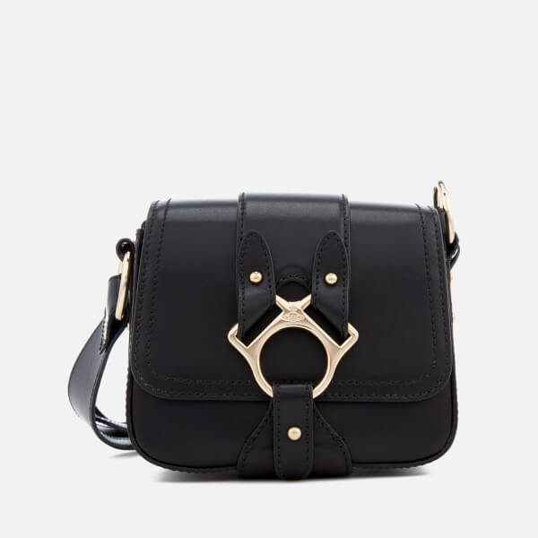ce418fc6ba72 Vivienne Westwood Women s Folly Small Saddle Bag - Black  Image 1