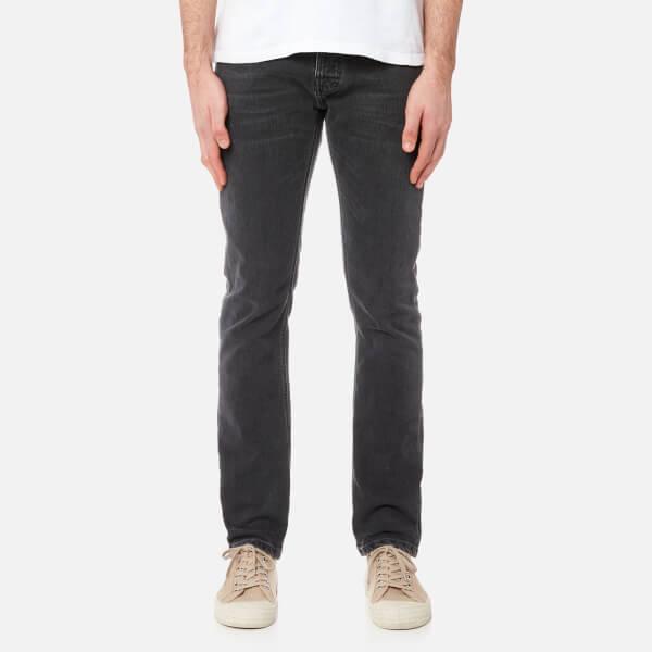 Nudie Jeans Men s Grim Tim Slim Jeans - Black Seas Mens Clothing ... ba0e96238
