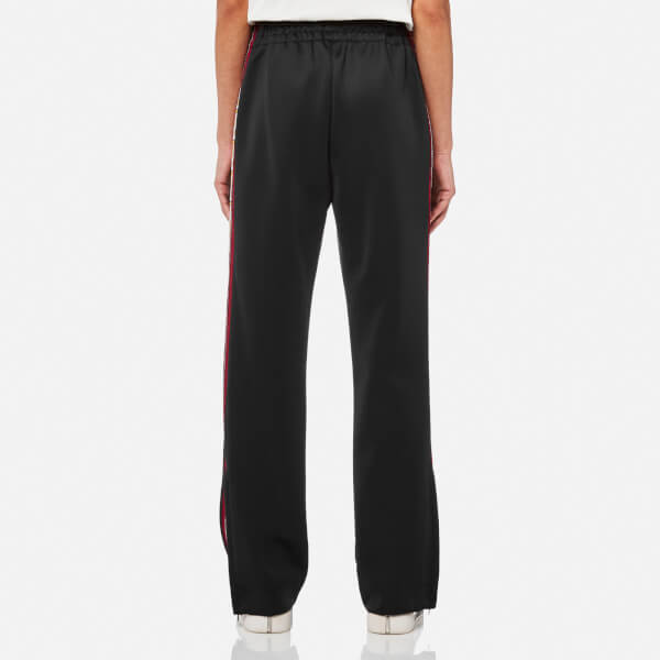 Marc Jacobs Women S Track Pants Black Yellow Free Uk Delivery