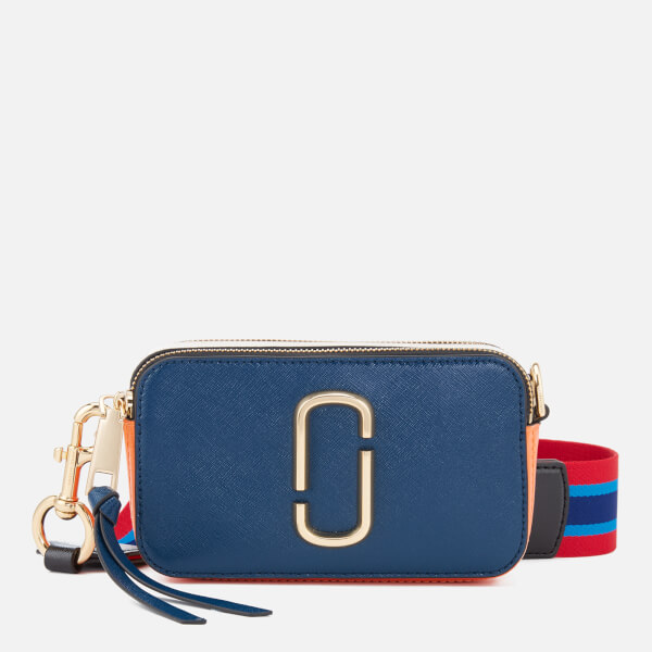 Marc Jacobs Women's Snapshot Cross Body Bag - Blue Sea/Multi