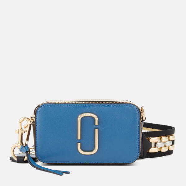 Marc Jacobs Women's Snapshot Cross Body Bag - Vintage Blue/Multi