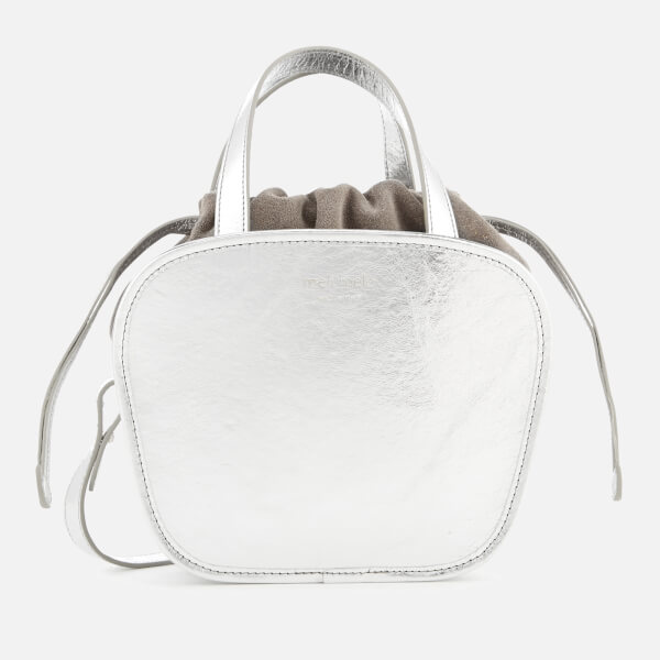 meli melo Women's Rosetta Cross Body Bag - Silver