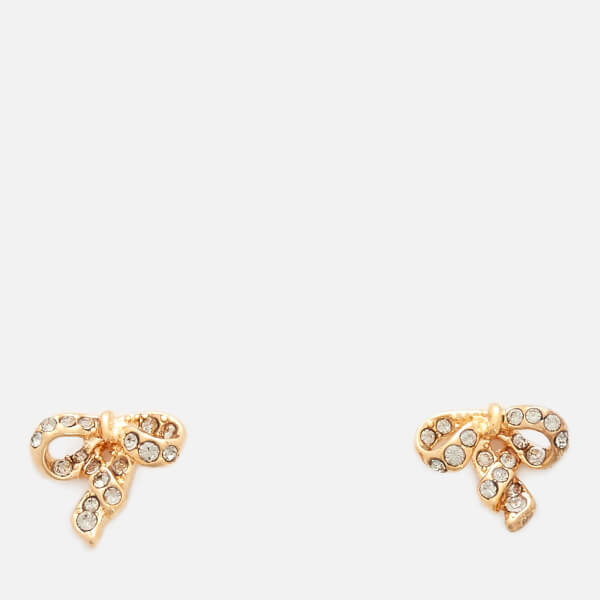 Marc Jacobs Women's MJ Coin Bow Studs - Gold