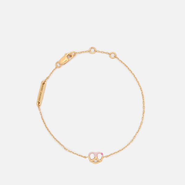 Marc Jacobs Women's Something Special Pretzal Bracelet - Gold