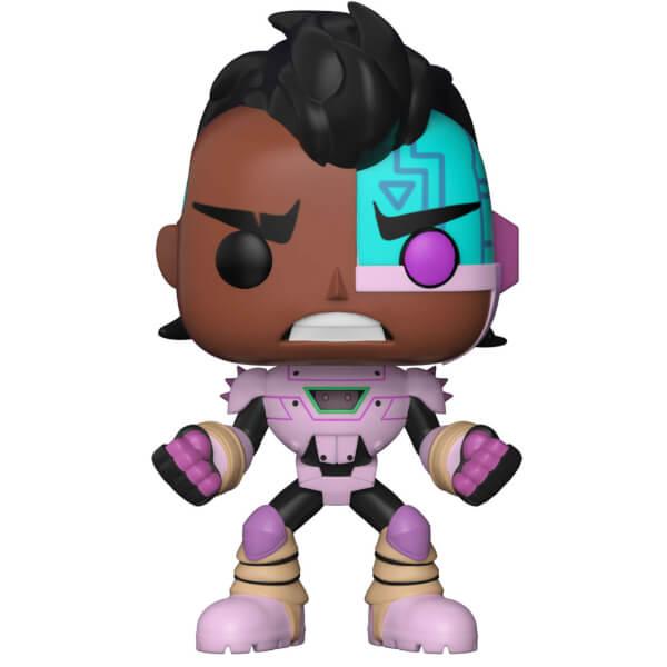 Teen Titans Go Cyborg Pop Vinyl Figure Pop In A Box Us