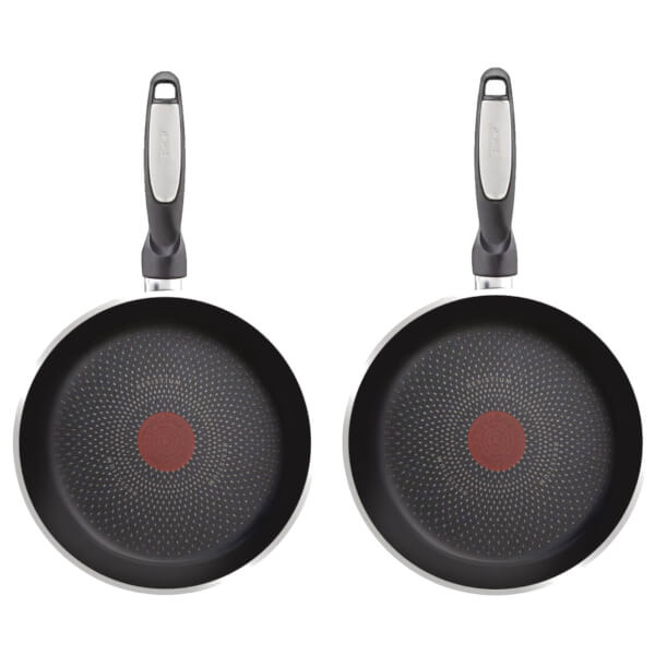 Tefal Harmony Plus 2 Piece Fry Pan Set (28cm & 32cm)