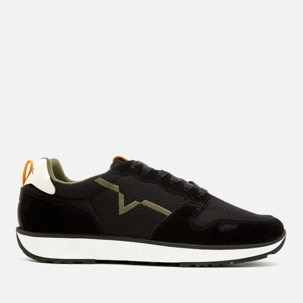 Diesel Men's RV Runner Trainers - Black/Sun Orange