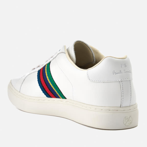 f48139fe5f41 PS Paul Smith Men's Lapin Leather Trainers - White | FREE UK ...