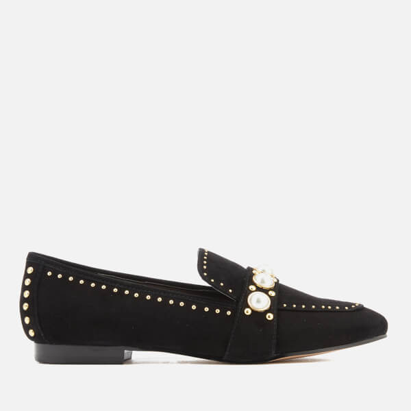 Carvela Women's Leighton Suede Loafers - Black
