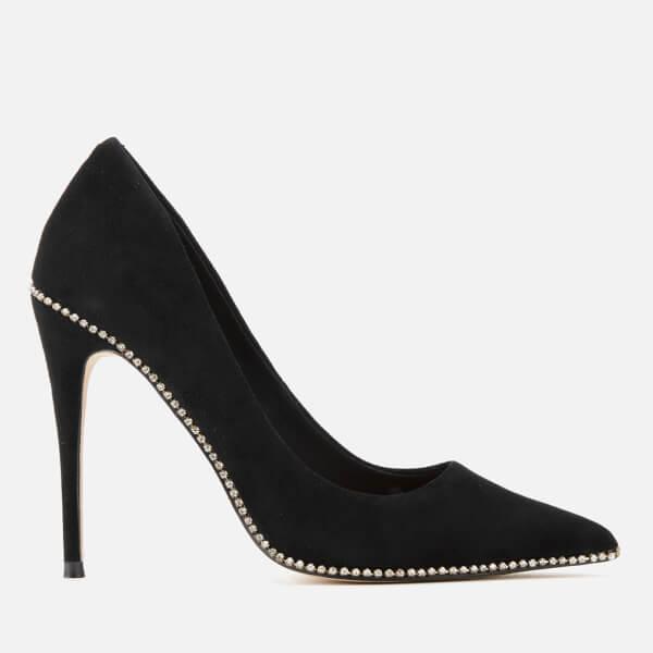 Kurt Geiger London Women's Envy Suede Court Shoes - Black