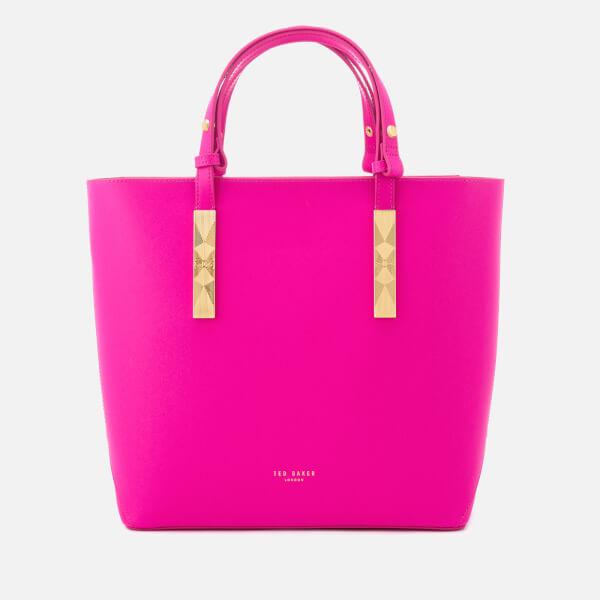 Ted Baker Women's Jacey Adjustable Handle Zip Shopper Bag - Bright Pink