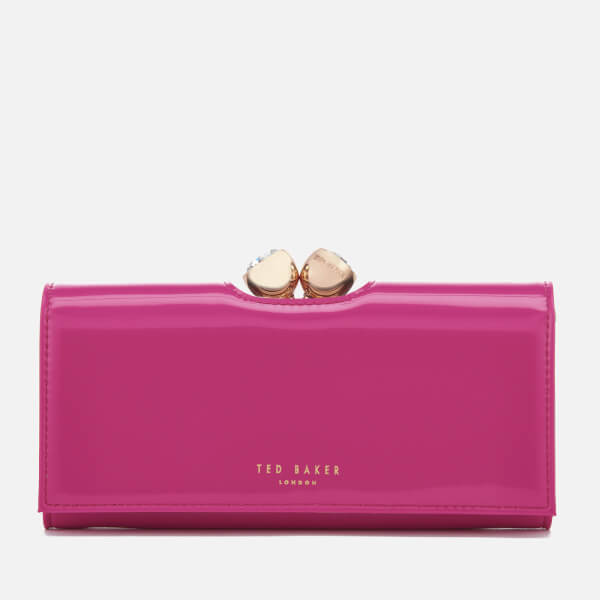 Ted Baker Women's Honey Twisted Bobble Patent Purse - Bright Pink