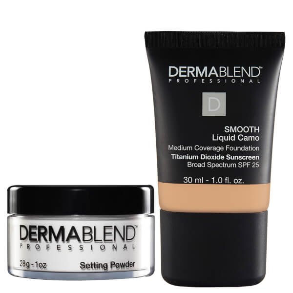 Dermablend Natural Finish Set - 40C Sepia