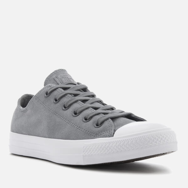 Converse Men s Chuck Taylor All Star Ox Trainers - Cool Grey Cool Grey White 174635a3a