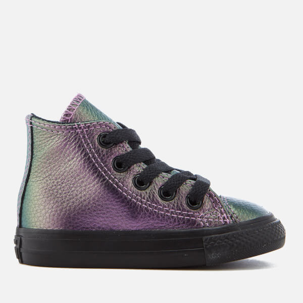 6f17e870a561 ... norway converse toddlers chuck taylor all star hi top trainers violet  black eb4d8 62b9c