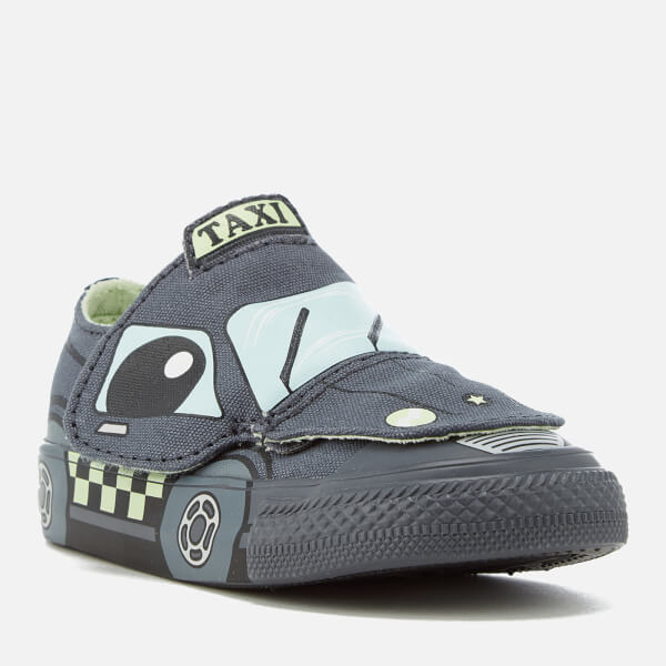 af6ba542866 Converse Toddlers  Chuck Taylor All Star Creatures Ox Trainers -  Sharkskin Glacier Blue