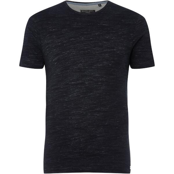 Brave Soul Men's Almus T-Shirt - Navy