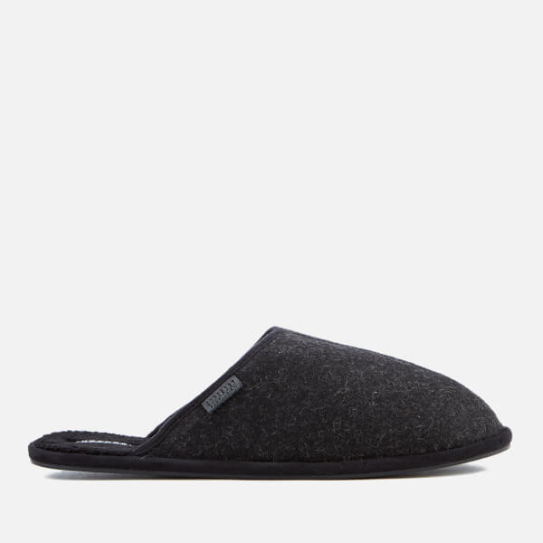 Superdry Men's Classic Mule Slippers - Charcoal