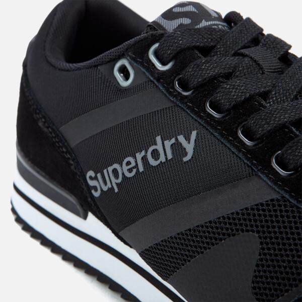 Superdry FERO RUNNER - Trainers - black