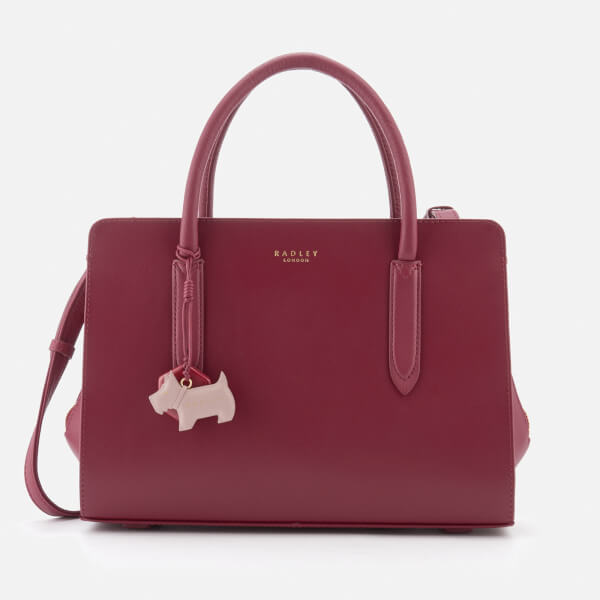 Radley Women's Liverpool Street Medium Zip-Top Multiway Bag - Berry