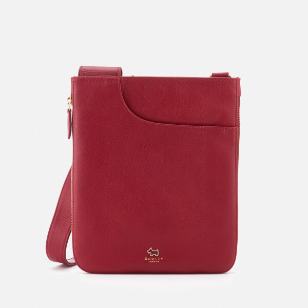 Radley Women's Pockets Medium Ziptop Cross Body Bag - Berry