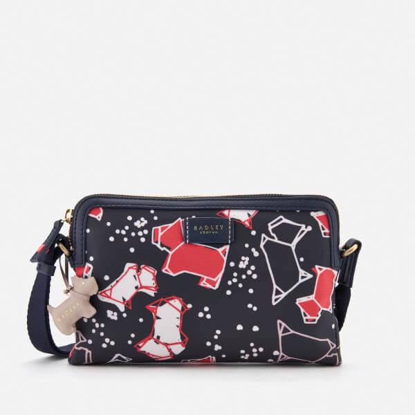 Radley Women's Speckle Dog Small Zip-Top Cross Body Bag - Ink