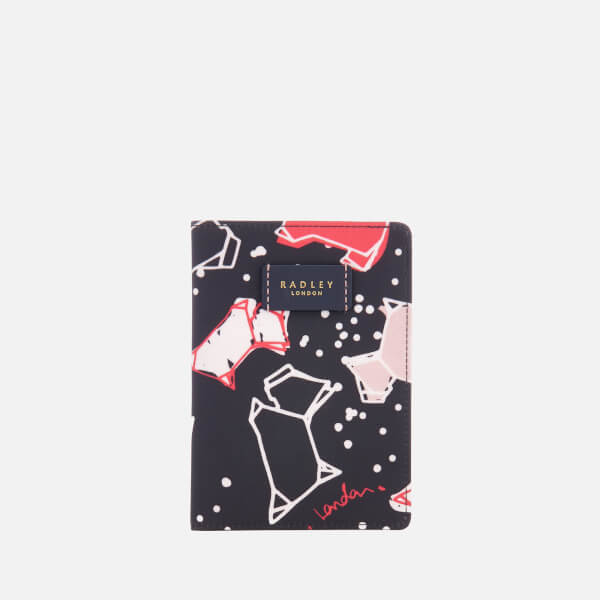 Radley Women's Speckle Dog Passport Cover - Ink