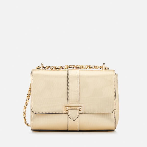 Aspinal of London Women's Lottie Bag - Gold