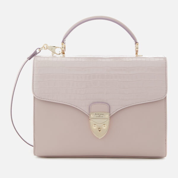 Aspinal of London Women's Mayfair Tote Bag - Lilac